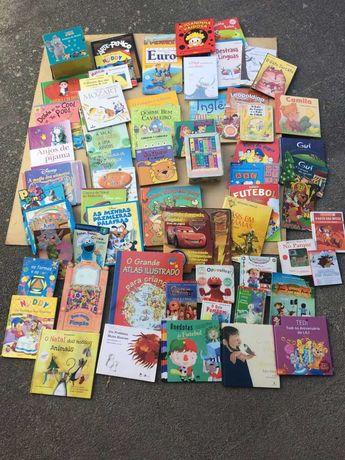 Conjunto de livros infantis e juvenis