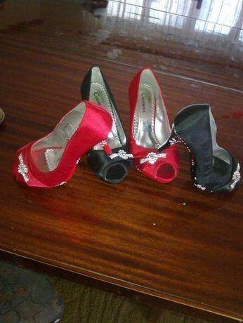 Туфли женские вечерние. Польша-35р- цена снижена