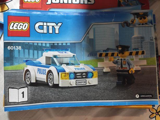 LEGO City Автомобиль вертолёт самолёт Полиция погоня