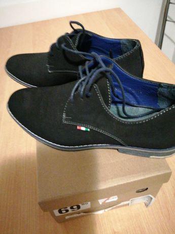 Buty chłopięce róż. 38