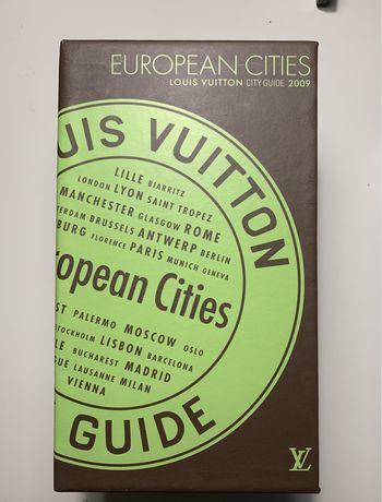 Coleção Louis Vuitton european city guides
