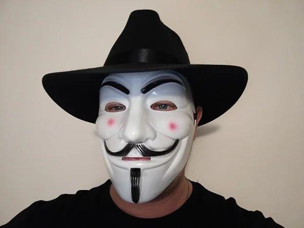 Маска Гая Фокса V Вендетта Анонимуса. Отправка только Новой почтой!