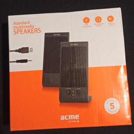 Głośniki komputerowe firmy Acme