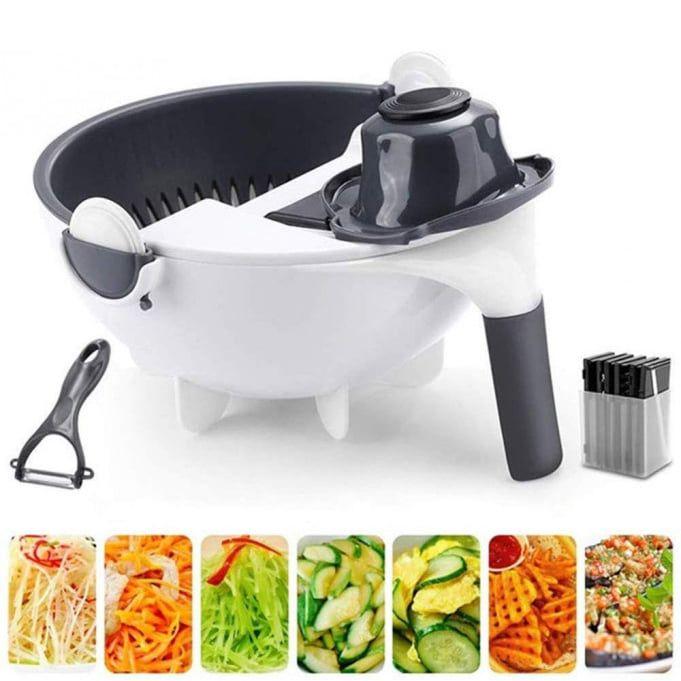 Продам Овощерезку Wet Basket Vegetable Cutter 9в1 Кривой Рог - изображение 1