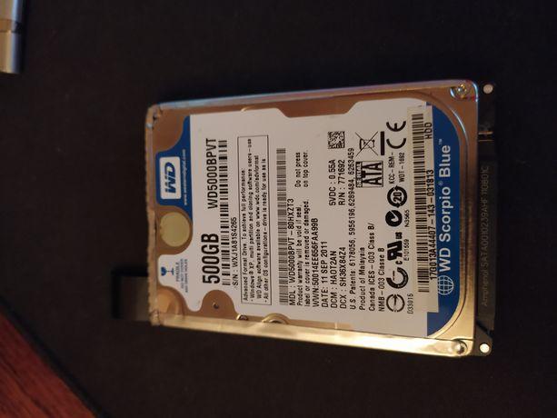 Жесткий диск HDD 2.5 500 gb