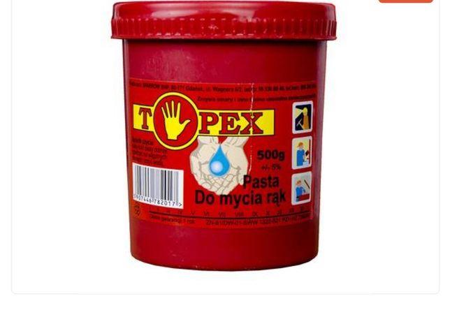 Pasta do mycia rak Topex bhp higiena