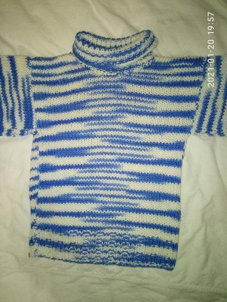 Кофта свитер вязаный