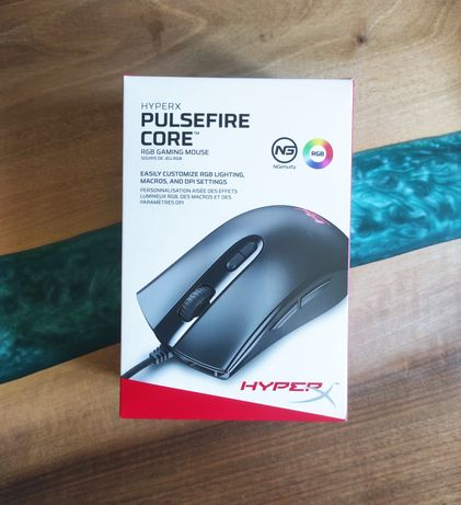 Игровая мышь HyperX Pulsefire Core RGB USB Black