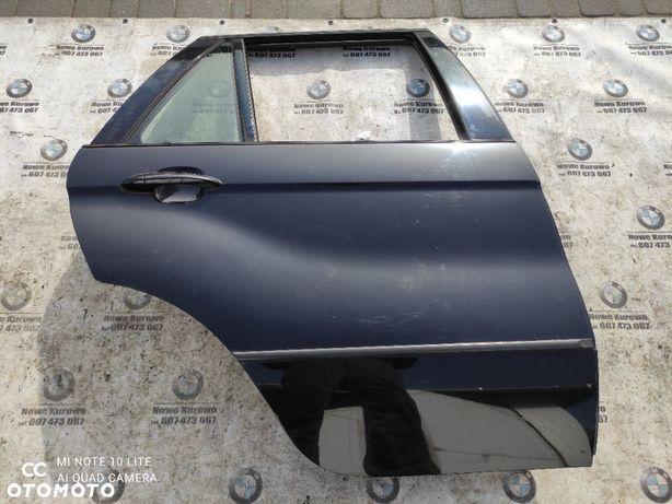 BMW E53 X5 Drzwi Prawe Tylne Tył Black Sapphire 475/9
