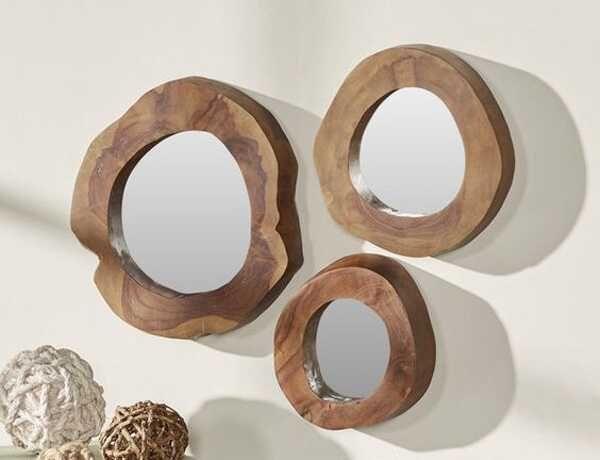 Espelho de madeira Suar *NOVO*