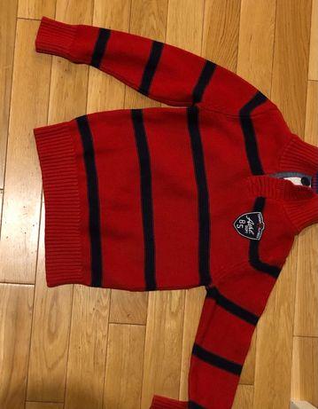 Sweter Tommy Hilfiger 6/7 lat z UK miękki nie kłuje oryginał bluza