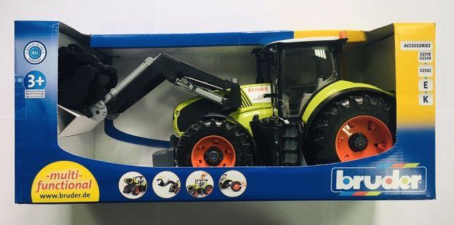 Игрушка Bruder трактор Claas Axion 950. (1:16). Новые! Германия!