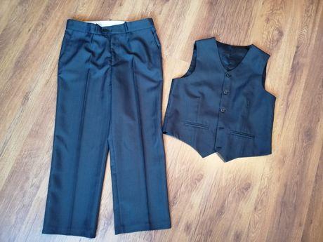 Garnitur 2 częściowy (spodnie +kamizelka) 152 cm