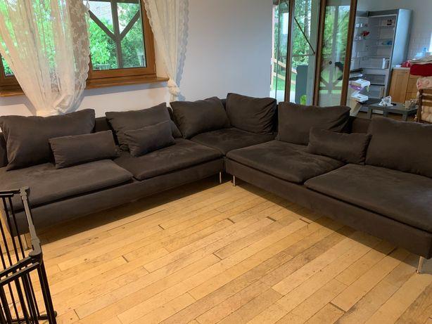Sofa narożna 6-osobowa (IKEA) SÖDERHAMN
