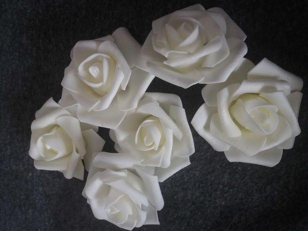 Piankowe róże 7cm