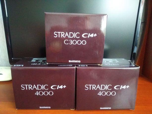 Спиннинговая катушка Shimano Stradic CI4+