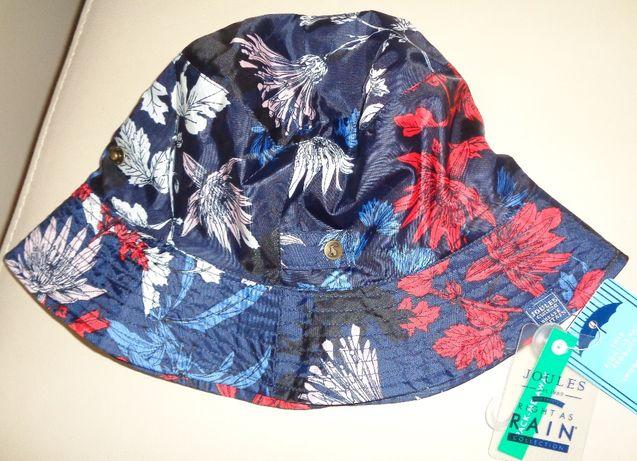 JOULES damski nieprzemakalny kapelusz letni w kwiaty ONE SIZE 56-58 cm