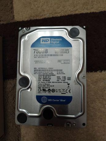 жесткий диск WD 750