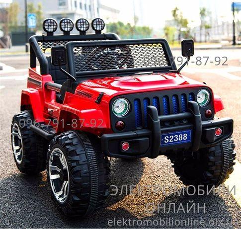 ХАРЬКОВ! В наличии JEEP Wrаngler (M 3237) 4WD детский электромобиль