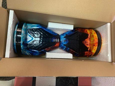 Гироскутер гироборд 8 дюймов Огонь и лед Smart Balance Elite Lux
