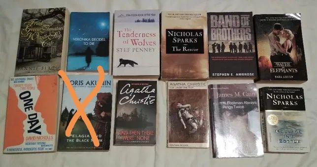 24 książki anglojęzyczne po angielsku Paulo Coelho Agathie Christie