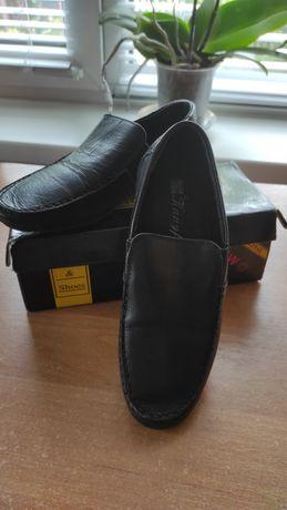 Туфли- мокасины для мальчика 33 р кожа