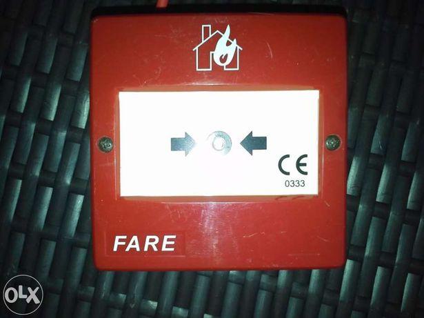 Botão de alarme fogo