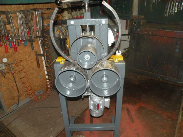 walcarka giętarka  do płaskowników,profili blachy  moc 055 kw