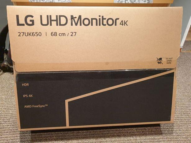 Monitor LG 27UK650 UHD 4K HDR