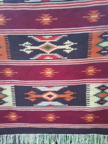 Коврик шерстяной в этно стиле