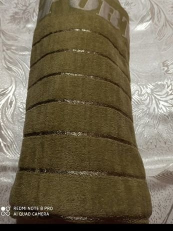 Полотенца Сауна, 100%хлопок, с одной стороны велюр, с другой махра