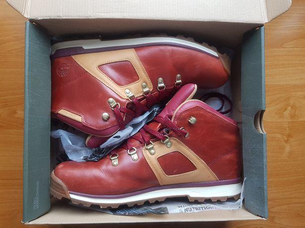 Buty męskie Timberland rozmiar 47,5, 13US, 31cm wkładki, czerwone