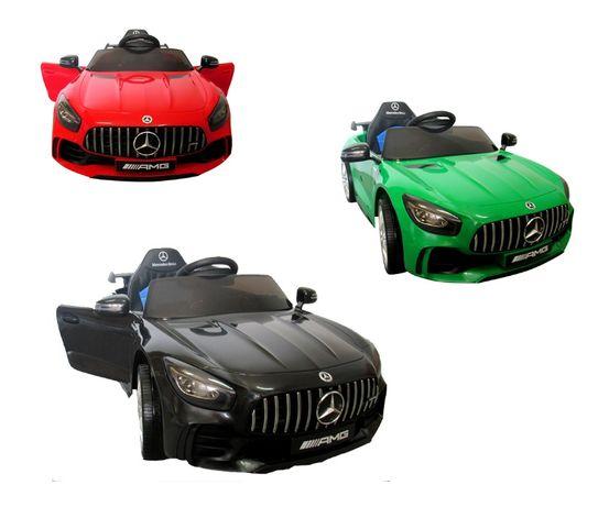 Auto na Akumulator Mercedes GTR, Miękkie koła EVA, GWARANCJA, WARTO!
