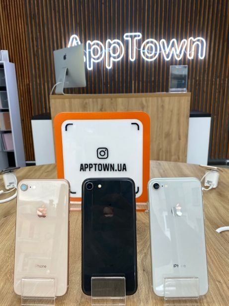 IPhone 8 Gold/Space/Silver 64GB /256 GB/Neverlock + Гарантия