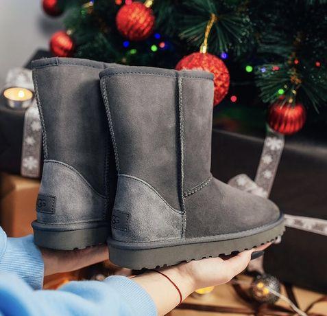 Женская обувь Угги / UGG Classic Grey Серые 36-40р