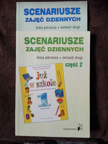 Scenariusze zajęć dziennych do podręczników Już w szkole - klasa 1,2,3