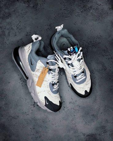 Nike Air Max 270 React X Travis Scott Damskie męskie Trampki 36-45