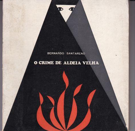 Livro de teatro O crime de aldeia velha - Bernardo Santareno