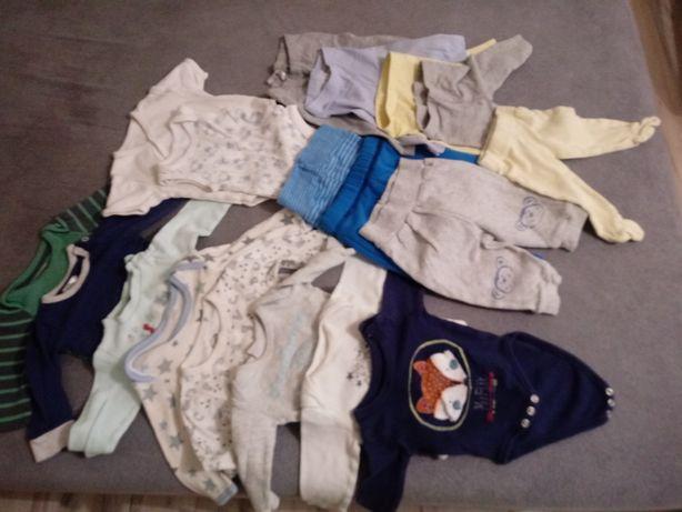 Ubranka 50-62 dla chłopca