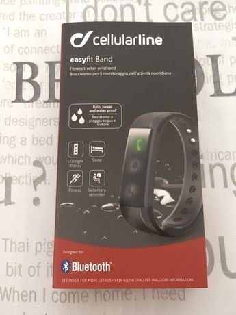 Pulseira bluetooth cellularline easyfit Band