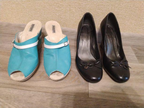 Туфли босоножки женские Кожа размер 39, стелька 26