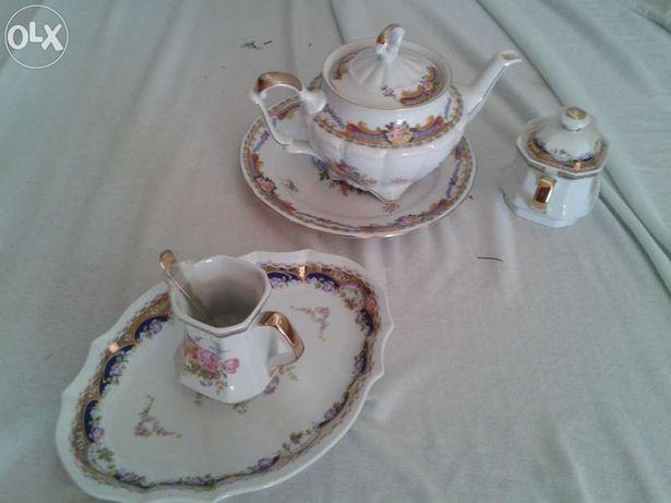 Serviço de chá limoges