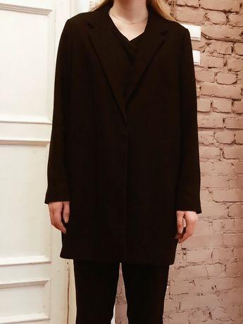 Черный женский пиджак oversize
