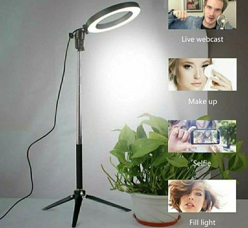 Anel de luz Led para maquilhagem, fotografia, vídeos (Novo)