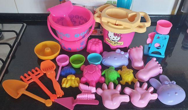 Lote brinquedos de praia