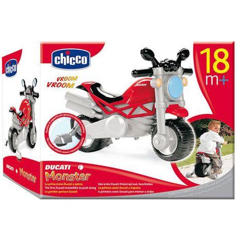 Толокар Мотоцикл Ducati Monster, красный, Chicco (71561.00)