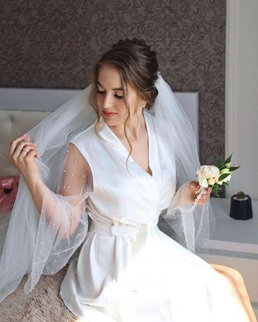 Халат весільний