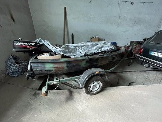 Лодка Барс 300 + mercury 5.0 без лафета
