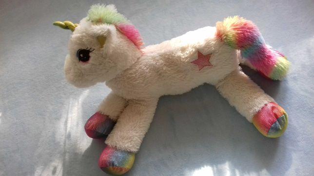 Tęczowy kucyk jednorożec unicorn duży, jak nowy!