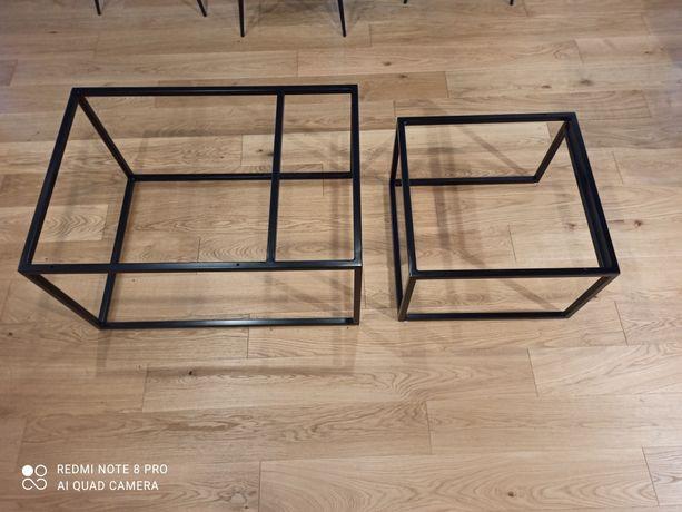 2x Stolik stalowy loftowy industrial